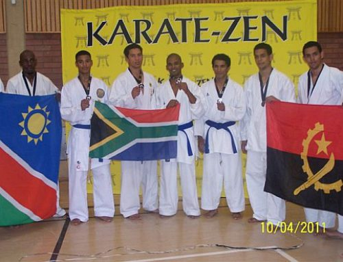 The Namibian Karate Zen Open Tournament